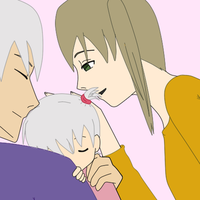 Art request: Soul and Maka's child. by anime-artist-love