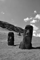 Stone Guardians - Easter Island - 2011 by g-dh