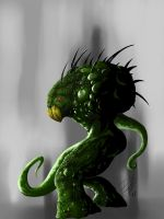 Green Monster Concept by thetoothless1