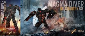 Magma Diver by chicack