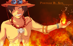 Portgas D. Ace by Erangot