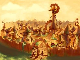 ClockTown.Revised by CaraKhan