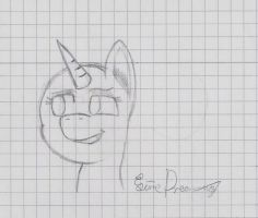 Sketch 003 (Pony Head) by LimeDreaming