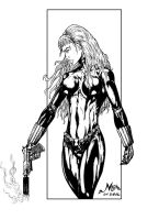 BLACK WIDOW by Mich974