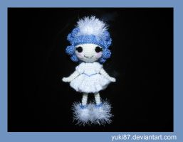 Lalaloopsy Ivory Ice Crystals by Yuki87