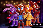 FNAF (Glad You Came) by Marie-Mike