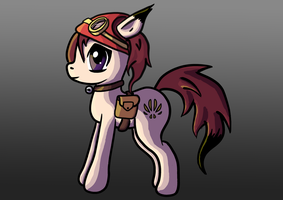 Rin the pony by QuantumBJump