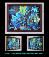 League of Legends Classic Thresh Shadowbox by The-Paper-Pony