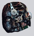 Techno Mask by NHuval-stock