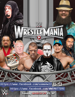 Wrestlemania 31 poster by WWEMatchCard