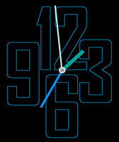 Transparent-Clock-With-Mouse-Scroll-Zoom 5-5-1 by xordes