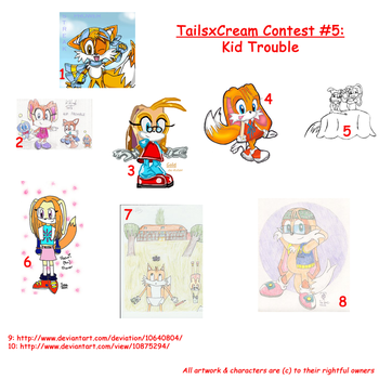 Taiream Kid Trouble Contest by TailsxCream-Fans