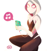 Spider-Gwen by TheGingerMenace123