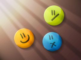 smileys by c1ko