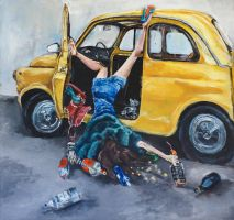The drunk girl by mariawerstler