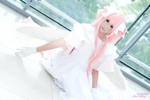 Cosplay - Madoka Goddess by Korixxkairi