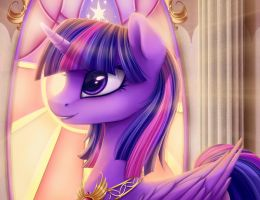 Princess Twilight Sparkle by Lyra-senpai