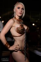 Kristen Hughey as Slave Leia LA Comic Con 2016 -II by wbmstr