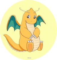 Dragonite by Baiky