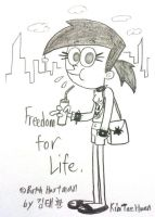 Freedom for life by komi114