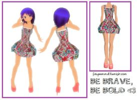 MMD Outfit K009 by FaiyeeMMD