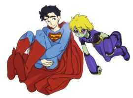 Brainy n Clark by nastrond