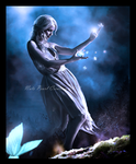 Blue Night by NatsPearlCreation