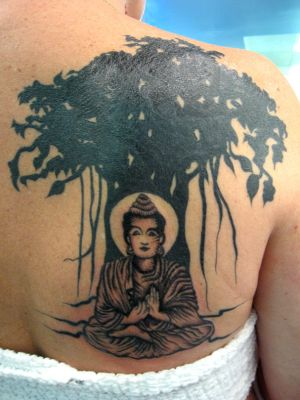 Buddha by eliq-tattoo