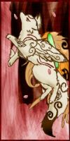 Okami Bookmark by sashabff