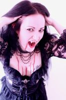 Shooting Orayan 2 vampire by Eve-VelvetRose