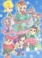 Christmas Tree by Ginny-N