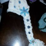 Queen Elsa Wig/hat halloween costume accessory by Ahriannah