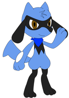 Zach the Riolu by Zach-USA