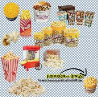 popcorn_ PNGs by gwendo0