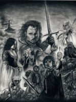 Lord of the Rings Trilogy - The Return of the King by y3nd0