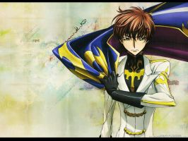 Suzaku Wallpaper by icedragon1992