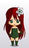 poison ivy chibi syle by MAHGOL-DC-LOVER