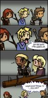 DAO: Zevran Comic by OneWingedMuse