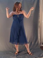 Blue Party Dress 7 by RLDStock