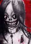 How Jeff the Killer really is ( sorry fangirls) by Mademoiselle-Strange