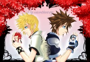 KH2: The differences of hearts by Kumagorochan