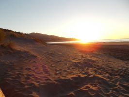 Black Sand Dunes In The Sunset by MunsenTheBiscuit69