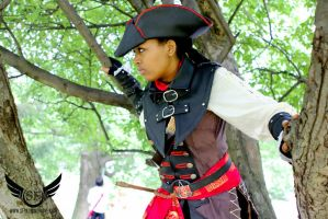 Aveline in a tree by KiwiHana