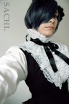 BB: Ciel Phantomhive Black Lily Version by loonyclown