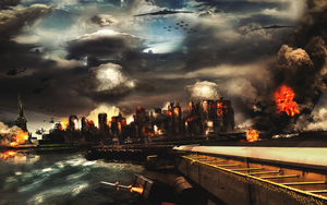 Chaos City by Garcho