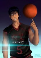 THE LIST| No. 1  AOMINE DAIKI by Narikoh