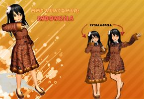 [APH-MMD] Newcomer: Indonesia (UPDATED UPDATED) by ChipiChii