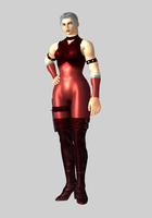 Tekken Tag Tournament - Nina Williams P1 Alt Color by iheartibuki