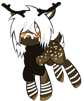 Reindeer oc Finished by JELL-IES