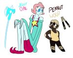 Jelly Opal and Peanut Wood by ultimateZ